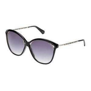 Balmain Cat Eye Sunglasses Blue Gold Trim